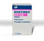 Достинекс 0,5мг (2капс)