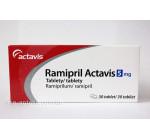 Рамиприл 5мг (30шт) Actavis