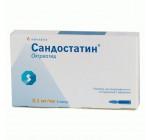 Сандостатин 0.1мг/1мл (5амп)
