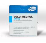 Солу-Медрол 500мг 8мл (1фл)+р-ль